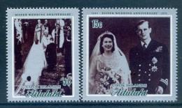 Aitutaki 1972 Royal Silver Wedding Set MNH - Aitutaki
