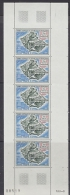 TAAF 1971 Ile De La Possession 1v Strip Of 5 ** Mnh (F4308) - Luchtpost