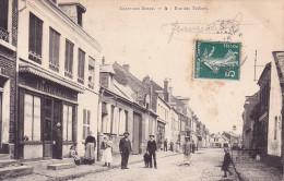 CPA - 02 - CRECY sur SERRE - rue des telliers - 4