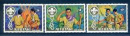 Aitutaki 1983 75th Anniversary Of Boy Scout Movement Set MNH - Aitutaki