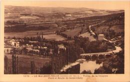 LE MALZIEU-VILLE - Vallée De La Truyère - Pont Et Route De Saint-Chély - Autres Communes