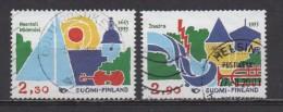 Finnland Gestempelt Michel 1210 - 1211   Thema Europa Aus 1993 (E3-52) - Oblitérés