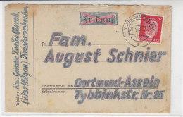 Brief Aus TUREK (Warthegau) 21.10.43 Kreiskrankenhaus - Covers & Documents