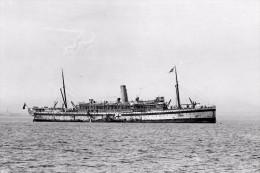 KYARRA As Hospital Ship WW1 At Melbourne Australia Modern RPPC Postcard - Piroscafi