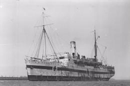 KAROOLA As Hospital Ship WW1 At Melbourne Australia Modern RPPC Postcard - Piroscafi