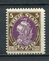 Danzig Nr.53        *  Unused       (061) - Dantzig