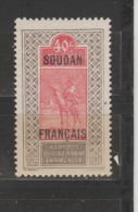 Soudan  1921  N°  30  Neuf X X - Soudan (1894-1902)