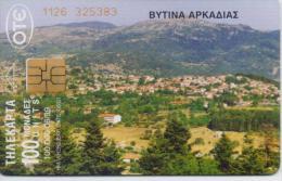 GREECE PHONECARD VITINA ARKADIAS-X0746- 100000pcs-6/99-USED - Grèce