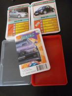 jeu d�ATOUT - QUARTET - automobiles  TUNING