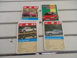 jeu d�ATOUT - voitures japonaises - automobile