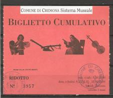 2002 - CREMONA  musei civici