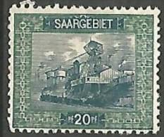 SARRE N� 55 NEUF* CHARNIERE / MH