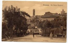 Lazio-frosinone- Veduta Via Marco Minghetti Animatissima Primi 900 - Frosinone