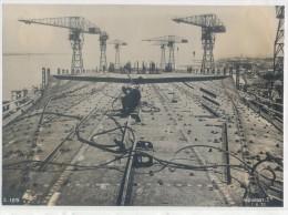 """Construction du """" NORMANDIE """" � SAINT-NAZAIRE (15,8 X 22 cm.)"""
