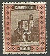 SARRE N� 60 NEUF* CHARNIERE / MH