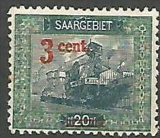 SARRE N� 69 NEUF*  CHARNIERE / MH