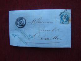 LETTRE FACTURE - 1853-1860 Napoléon III