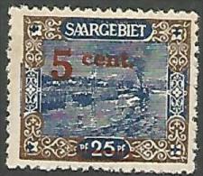 SARRE N� 70 NEUF* TRACE DE CHARNIERE / MH