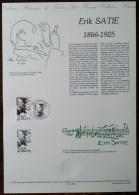 COLLECTION HISTORIQUE - YT N°2748 - MUSICIENS / ERIK SATIE - 1992 - FDC