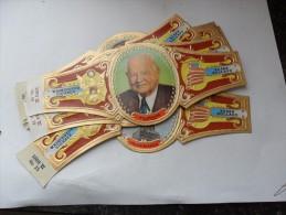 Washington Sigaren; Série Président Des USA (brun) 13 Bagues - Bagues De Cigares