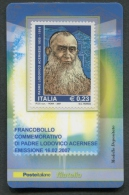 ITALIA TESSERA FILATELICA 2007 - PADRE LODOVICO ACERNESE - 199 - 6. 1946-.. Republik