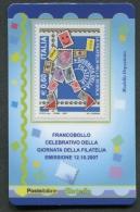ITALIA TESSERA FILATELICA 2007 - GIORNATA DELLA FILATELIA - 238 - 6. 1946-.. Republik