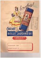 Porte-cahier Publicité Chicorée Belle Jardiniere  Sté Beriot  IVRY SUR PORT - Other Collections