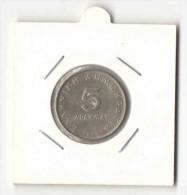 5 Drachmas 1976 (Greece, Grece, Griechenland, Griekenland, Grecia, Drachmai Coin) - Greece