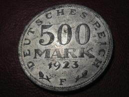 Allemagne - 500 Mark 1923 F 0979 - 200 & 500 Mark