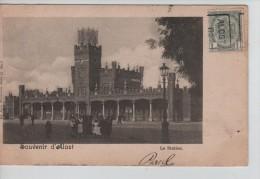TP 53 Roulette Alost 1902 S/CP Souvenir D'Alost La Station C.Alost 1902 PR2326 - Precancels