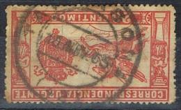 Sello Urgente 20 Cts 1905, Fechador TARRAGONA, Num 256 º - 1889-1931 Reino: Alfonso XIII