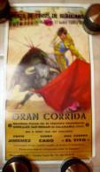 AFFICHE DE CORRIDA TAUROMACHIE BEAUCAIRE 27 JUILLET 1980