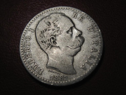Italie - 2 Lire 1881 0990 - 1861-1946 : Kingdom