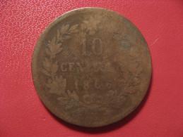Italie - 10 Centesimi 1866 N 0929 - 1861-1946 : Kingdom