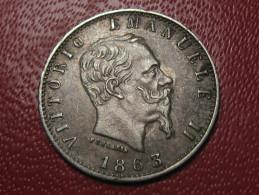 Italie - 20 Centesimi 1863 M BN 0995 - 1861-1946 : Kingdom