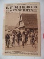 Le Miroir Des Sports N° 385 - 2 Août 1927 Vélo/Ruby/Football/Athlétisme/Boxe/Tennis & Sport Mécanique - Books, Magazines, Comics