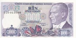 Lot De 5 Billets Turquie De 5, 10, 20, 100 Et 1000 - Turquie