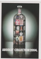 PROMOCARD N°   5026   ABSOLUT COLLECTION 2004 - Pubblicitari