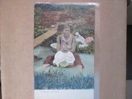 AMERICAN WASH LADY DOS 1900 - Panama