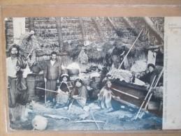 INDIOS ARAUCANOS DOS 1900 - Chili