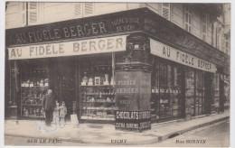 Vichy. Sur Le Parc. Rue Sornin. Au Fidèle Berger. - Vichy