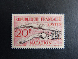 FRANCE C N° 960 1953 CNE 308 Indice 3 Perforé Perforés Perfins Perfin Superbe !! - France