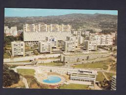 Caluire Et Cuire (69) - Montessuy - Vue Aerienne Piscine Et Centre Commercial ( Quartier H.L.M. Cité HLM CELLARD) - Autres Communes