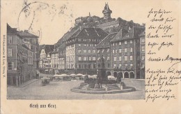 Autriche - Gruss Aus Graz /  Postmarked - Graz