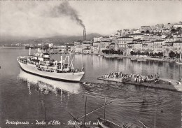 Portoferraio - Ile D'Elbe - Reflets Sur La Mer - Bateau - Livorno