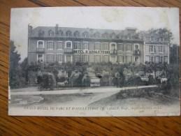 """Carte Rare à Ce Prix , Argeles Gazost Grand Hôtel Du Parc Et D'angleterre """" Carte Animée """" - Argeles Gazost"""