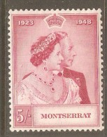MONTSERRAT    Scott  # 106-7* VF MINT LH - Montserrat