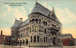 25767 MA, Fall River, 1915, Custom House and Post Office