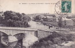 CPA - 08 - SEDAN - La Meuse Au Pont Neuf - 53 - RARE !!!!! - Sedan