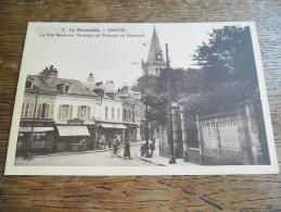 CPA De Sanvic - N°2 - La Rue Gambetta, Terminus Du Tramway De Cronstadt, Carte Animée - Autres Communes